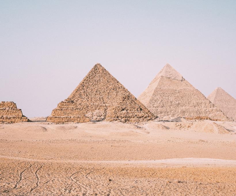 À la découverte des pyramides d'Égypte